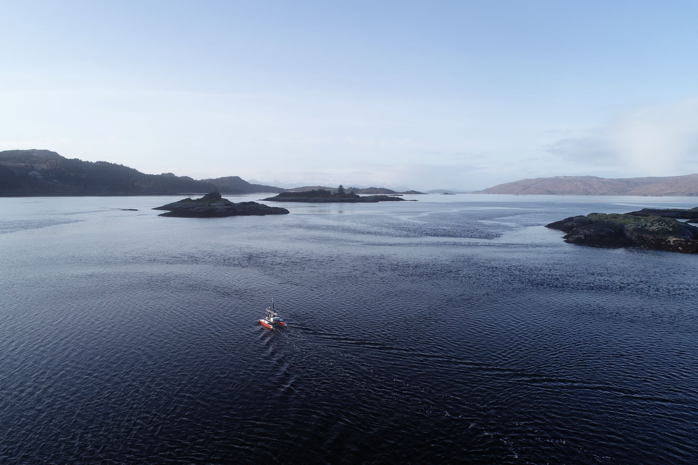2,000 Hours of Bathymetric Survey using Unmanned Vessels for UK Civil Hydrography Programme