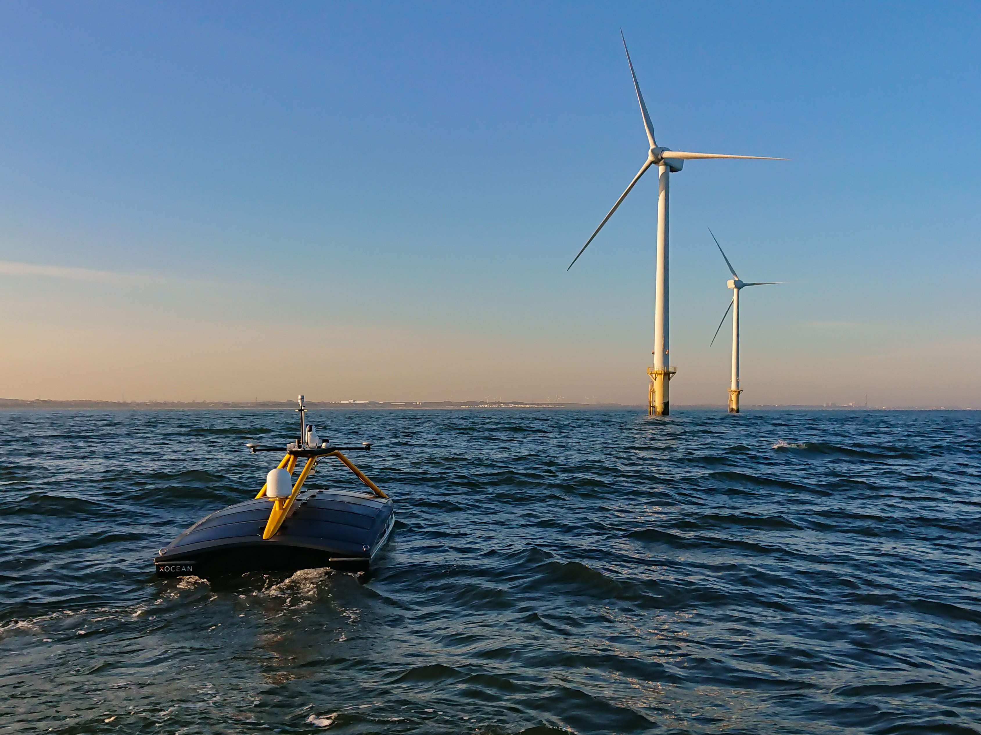 XOCEAN completes unmanned seabed survey of the Gwynt y Môr offshore wind farm for innogy Renewables UK