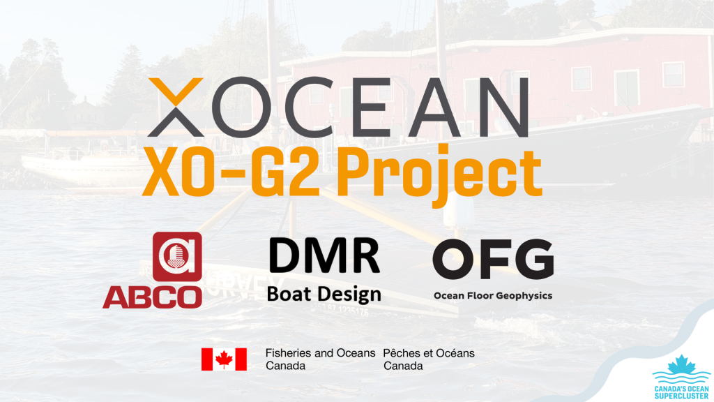 Canada's Ocean Supercluster Announces XOCEAN XO-G2 Project